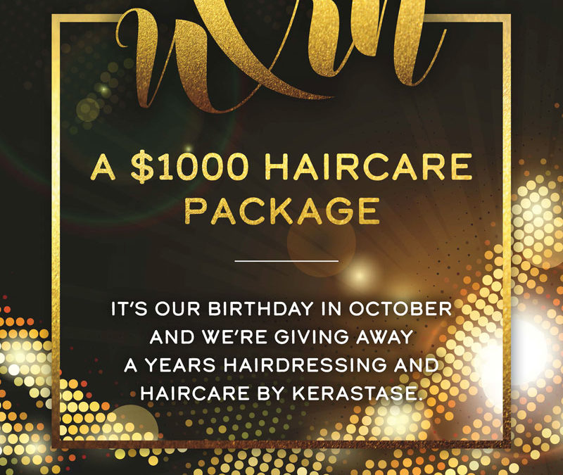 Win a $1000 Haircare Package